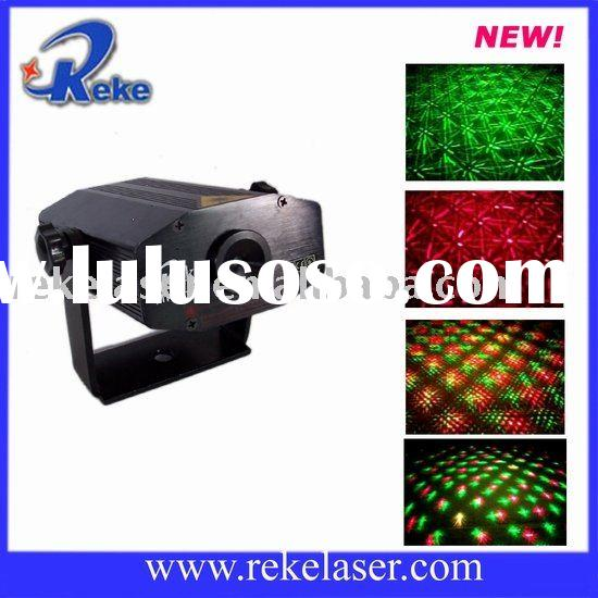 130mw red and green double lens cheap laser light show projector