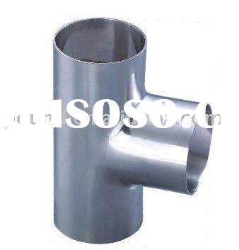 "1""-6'light wall weld stainless steel equal water tee pipe(201 202 301 302 304 316)"
