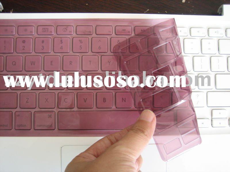 2010 hot sale colorful rubber laptop keyboard skin