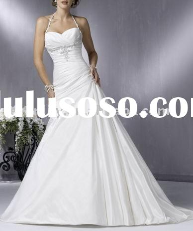 2011 Best Selling Cheap Classic A-Line Wedding Dresses