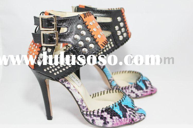 2011 Hot Lady High heeled Sandals Women's High Heeled Shoes Dress Shoes High Heels Sandals S