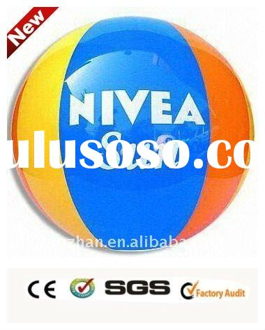 2011 hot advertising deluxe inflatable beach ball