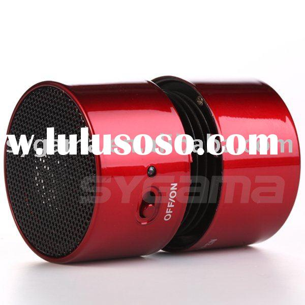2011 hot mini speaker for Ipod,boom box,loudspeaker