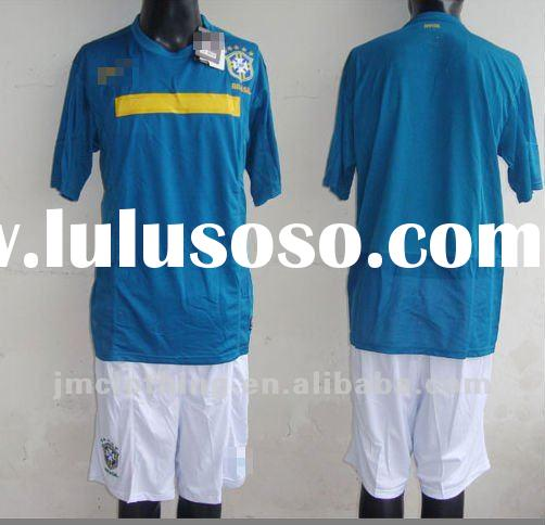 2011 nation team soccer jersey brazil away