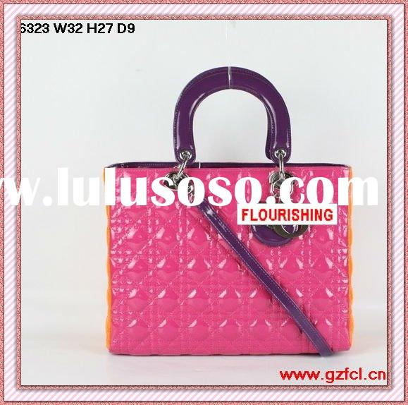 2011 top fashion cheap designer handbags with high quality(6323)