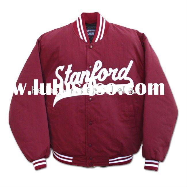 2012 Customized Fashion Kids 100% Polyester Baseball Jacket