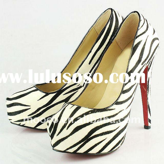 2012 Fashion ladies high heel dress shoes C007