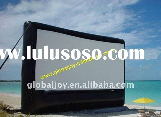 2012 HOT inflatable screen/ inflatable projection/ inflatable advertising screen