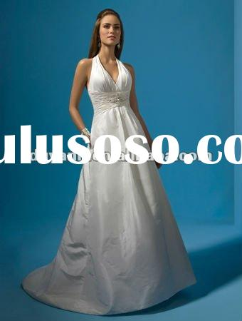 2012 Hot Sale Popular Designer Vintage Split Wedding Dress 01219
