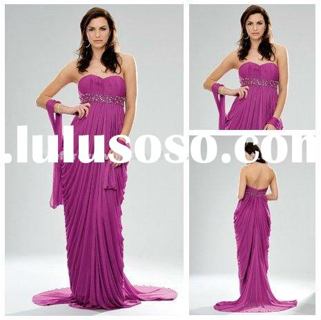 2012 New Design Chiffon Evening Dresses for Pregnant Women