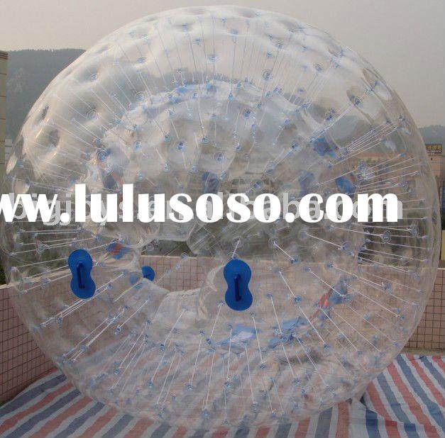 2012 Popular Inflatable zorb ball,kids grass zorb ball, giant inflatable ball with CE certification