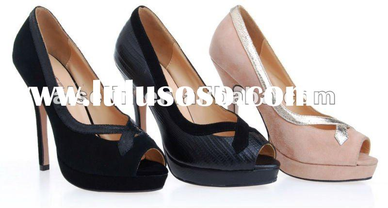 2012 brand new style women high heel shoes fashion shoes ladies high heeled shoes