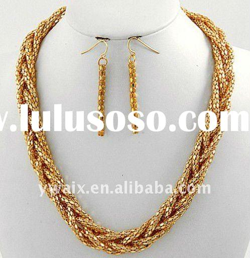 2012 fashion necklaces jewelry necklace set