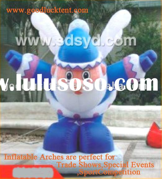 2012 high quality and waterproof advertising inflatable cartoons