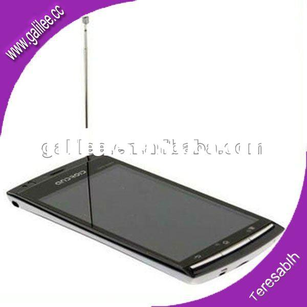"2012 hot selling 4.1"" 3G WCDMA Capactive multi-touch screen mobile with 8MP(GLLX18)"