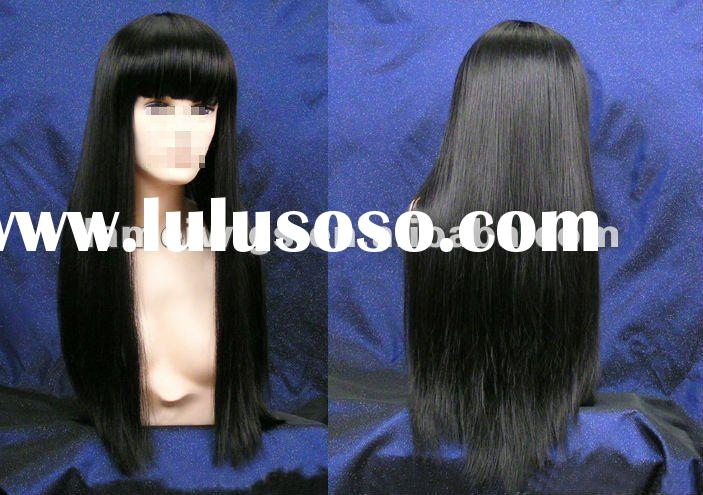 2012 hotsale fashion synthetic hair wigs