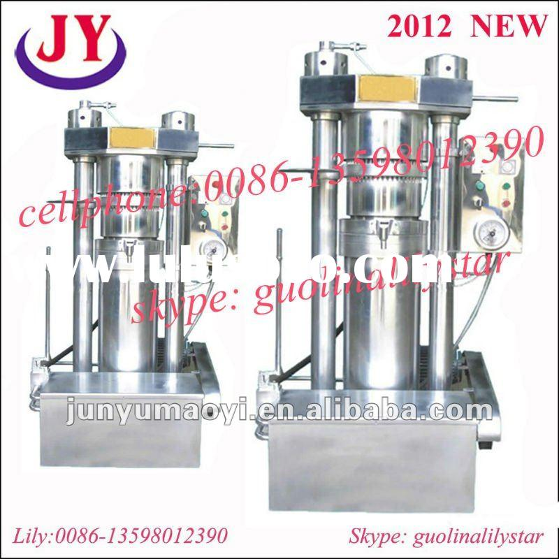 2012 new Home Use Small Style Hydraulic Olive Oil Press Machine