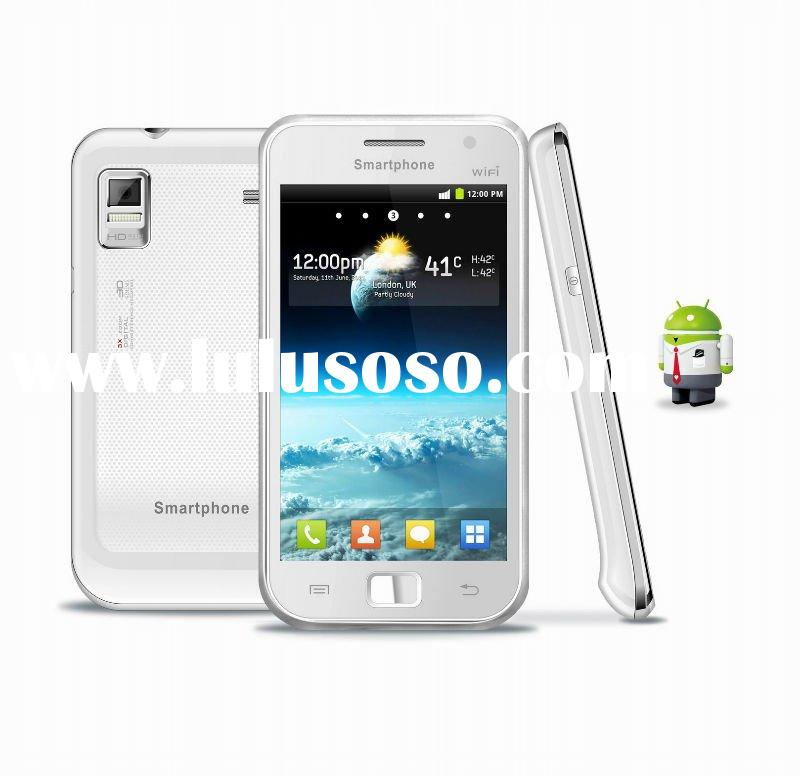 2012 new cell phone with Android 2.3.6 smartphone with dual sim card