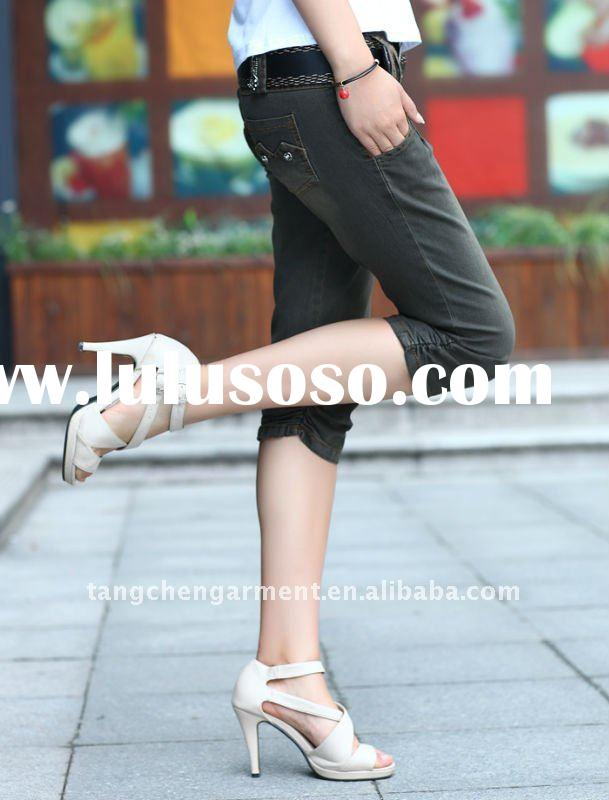 2012 new design ladies fashion short pants with hot selling