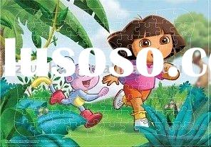 2012 new design paper Jigsaw puzzle for kids
