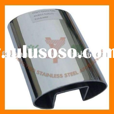 2012 stainless steel welded pipe for glass