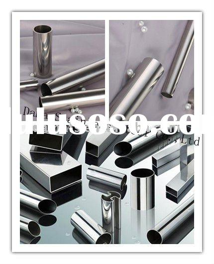 201 mirror finish stainless steel tube/pipe for handrail
