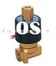 "2W 2/2 way Mini Normal Open Pneumatic Solenoid Water Valve G1/8"" 220V AC Small Aperture Size Br"