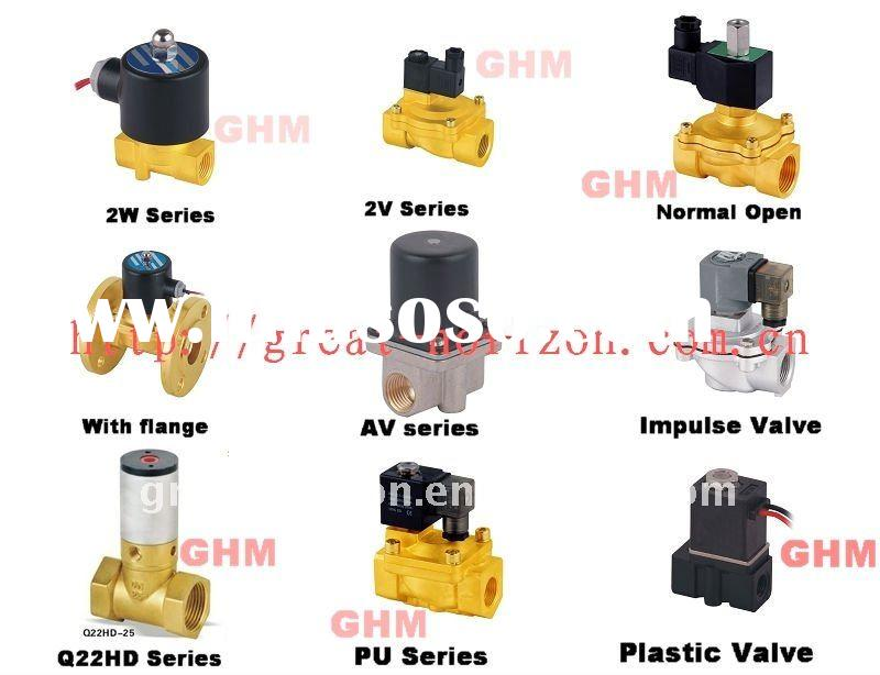 2/2 way Solenoid Valve, 2/4 way Solenoid Valves, 2/5 way Solenoid Valves with all voltage