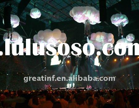 2.5M Inflatable Lighting Cloud Inflatable Party Decoration-Inflatable Star
