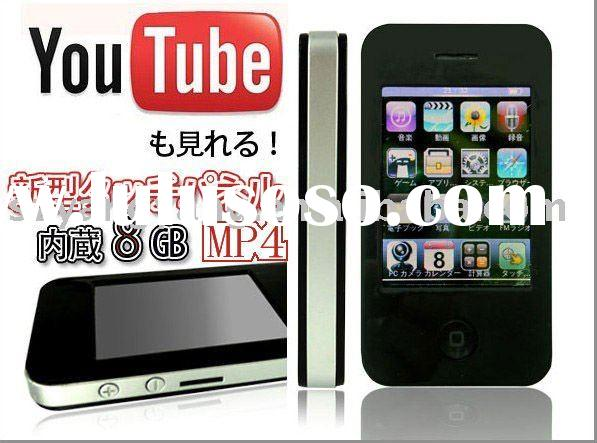 2.8 inch TFT Touch screen MP3 Player MP4 Player REC FM 1.3M camera