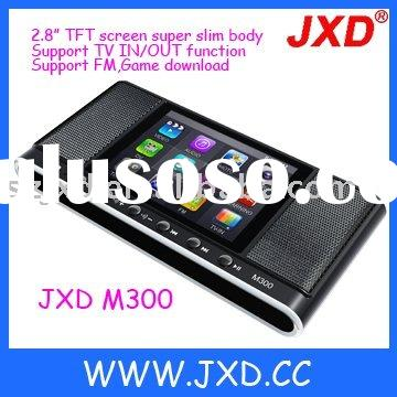 2.8 inch mp4 game player with 2 speakers & camera