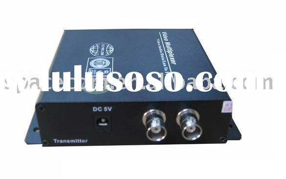 2 Channel Video optical transmitter