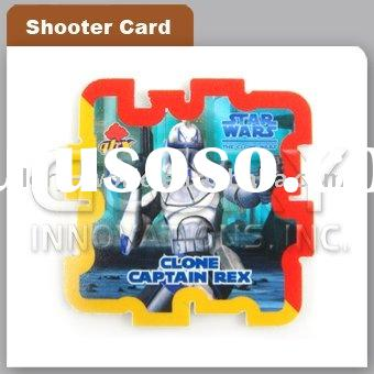 3D Plastic Puzzle Shooting Card With Cute Image