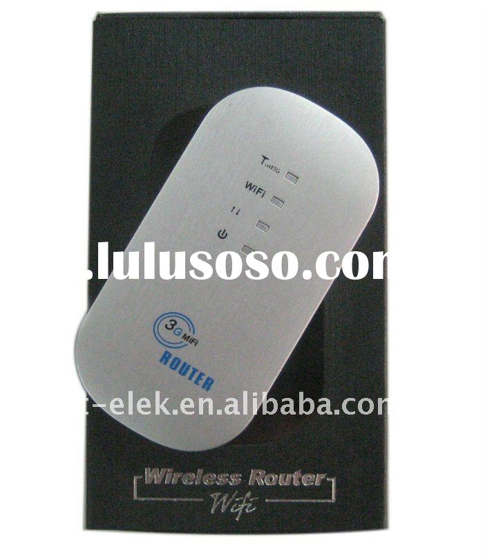 3G Pocket Mobile Broadband wireless modem MIFI WI-FI mini router 3.5G Portable Router with Battery