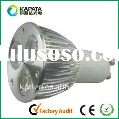 3*2W GU10 high power led light bulbs