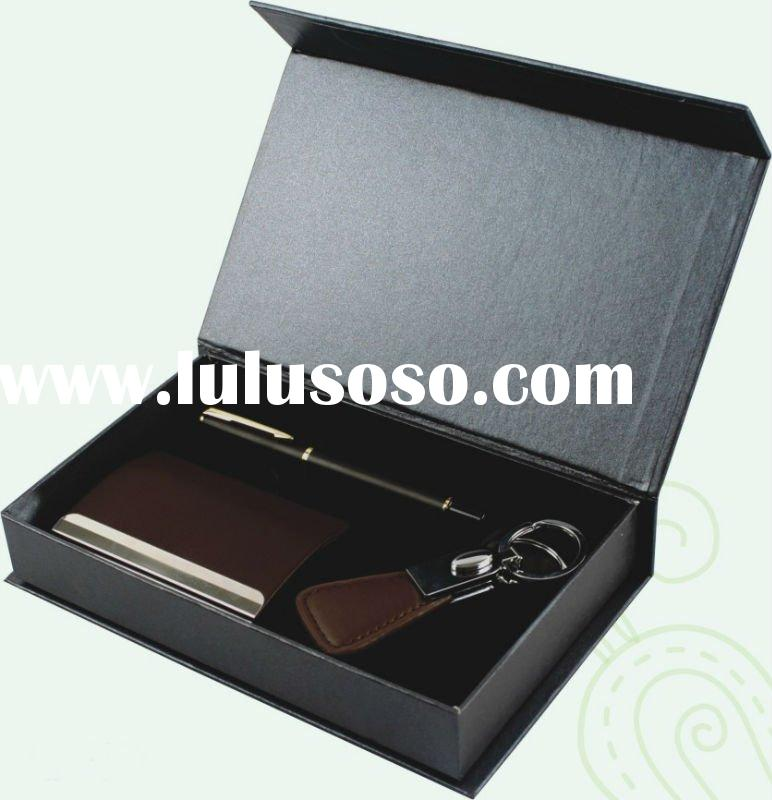 3 pcs Business Gift Set with name card holder