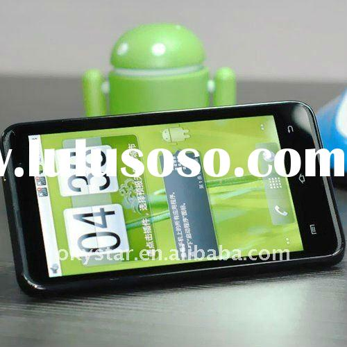 4.3 inch capacitive Android 2.3 MTK6573 WCDMA 3G cell phone with WIFI and GPS