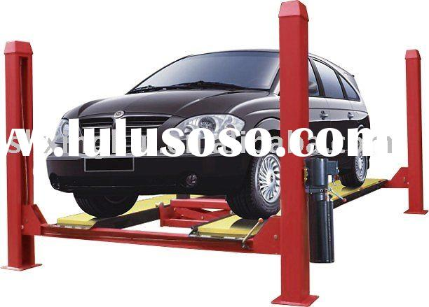 4 post car lift used for alignment