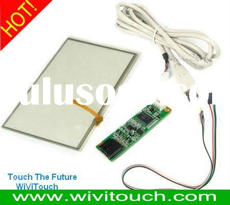 5 wire LCD Touch Screen Panel Kit 17'' with USB/RS232 Controller