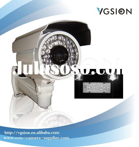 600TVL Hi-Res Car Number Plate Recognition Camera, 9~22mm Varifocal lens LPR Camera, 50M IR Night Vi