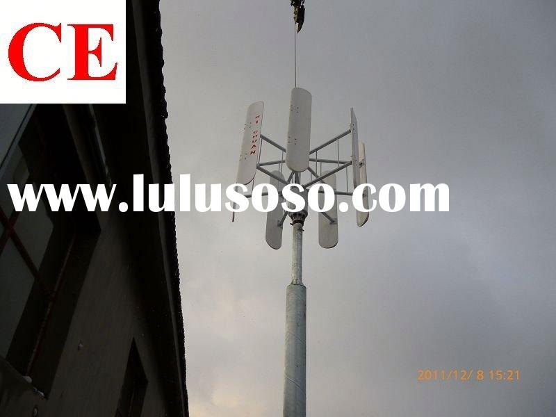 600w 1kw 2kw 3kw 5kw 10kw 20kw vertical wind turbine street lights