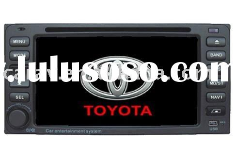 "6.2"" TFT-LCD Monitor CAR DVD Player for TOYOTA(Universal Vitz,Vios,Hilux,Corolla(Ex), Land crui"