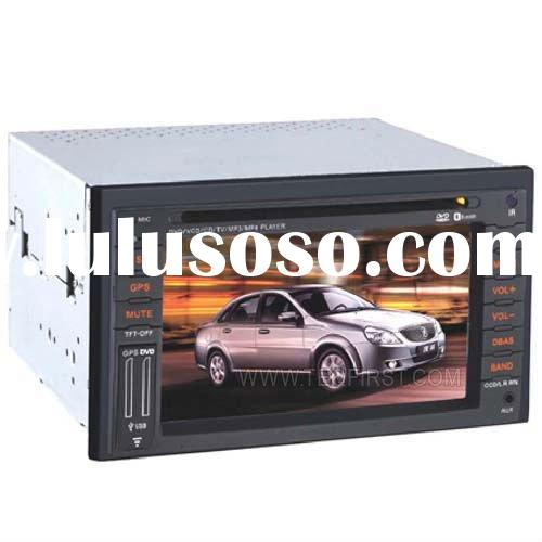 "6"" Car DVD Player GPS For Honda Old FIT/ CITY/ Old CR-V/ Hyundai Elantra/Sonata/ KIA Optima Car"