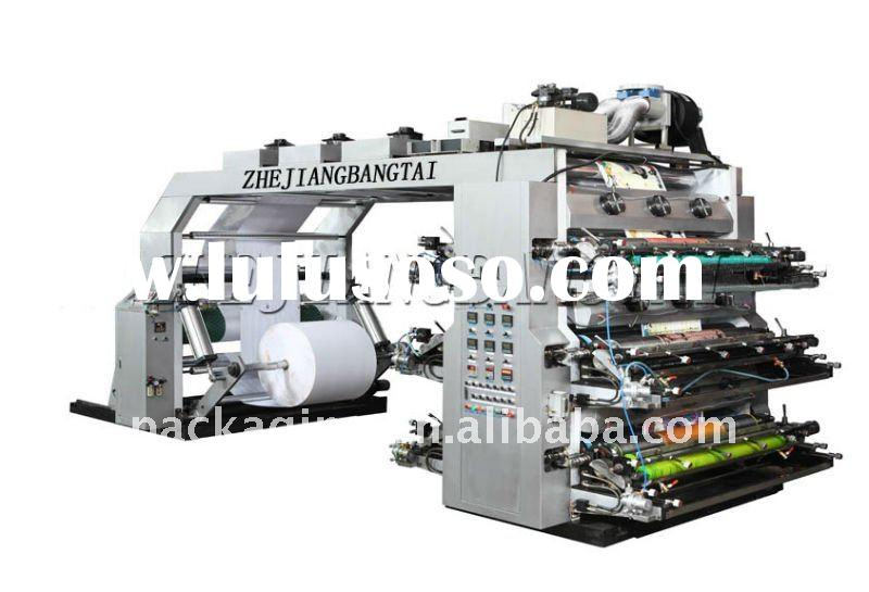 6 colors high speed flexo printing machine (HYT series )