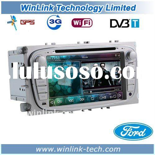 7 INCH 2 Din 3G WIFI Car PC GPS Ford Focus With DVD GPS Radio IPOD TMC