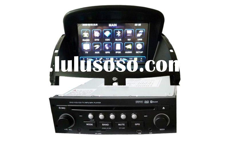 7 inch Peugeot 207 Car DVD Player with GPS/Bluetooth/DVD/CD/MP3/MP4/TV tuner/Canbus