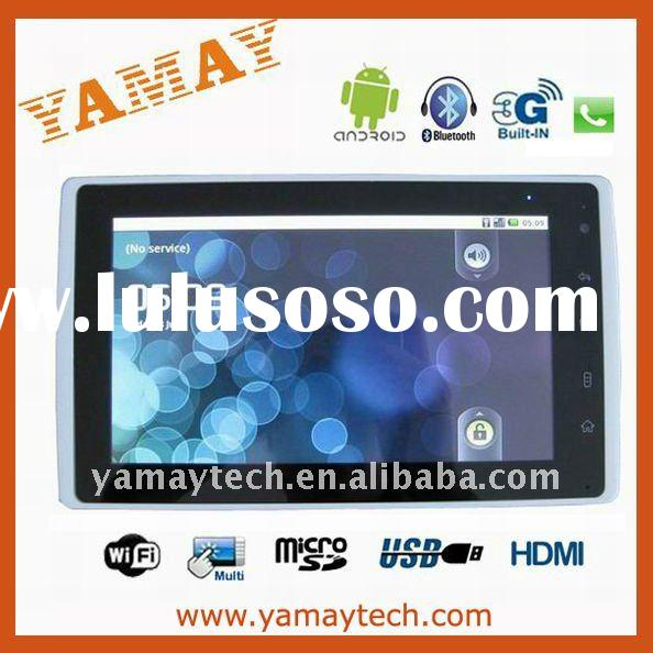 7 inch android 2.2 OS tablet pc with 3G sim card slot and GPS