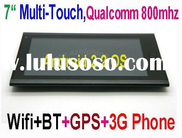 """7inch 7"""" 7 inch android 2.2 3G multitouch Mobile Phone or Cell Phone or Smart Phone or cellphon"""