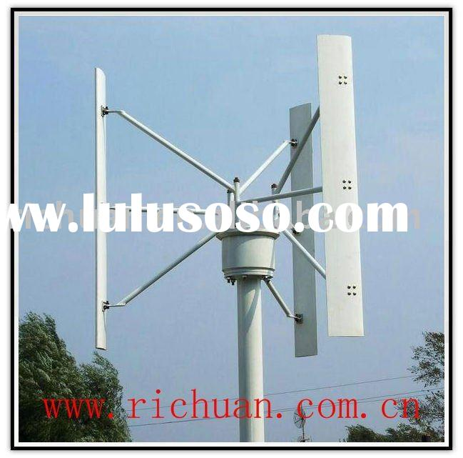 800w Vertical Axis small domestic Wind Turbines