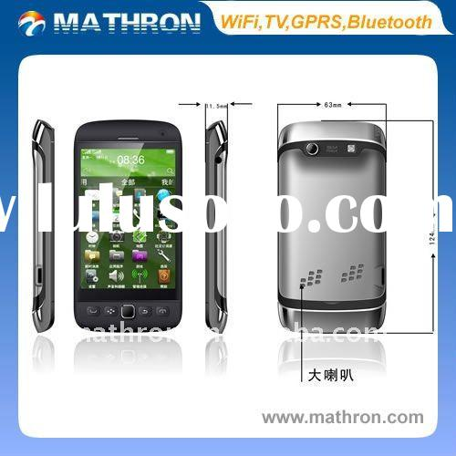 "9860 mobile phone 3.8"" WVGA Touch WiFi TV GPRS Java Bluetooth Smart Phone(black,white,gray)"